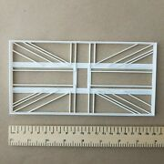 Union Jack Great Britain Flag Uk Giant Biscuit Cookie Cutter Large Jumbo Stencil