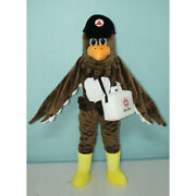 Big Bird Eagle Mascot Costume Suit Christmas Cosplay Party Game Dress Outfits Us