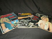 Vintage Jammer's Handbook Motorcycle Magazines Lot Of 3 Number 10, 11, And 12