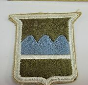 From A Collection Of Wwii To Present Us Army 80th Infantry Division Patches