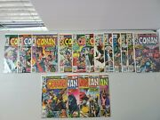 Marvel Conan The Barbarian Bronze Age Comic Lot 17 Comics - Bagged And Boarded B1