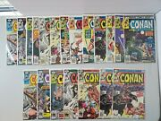 Marvel Conan The Barbarian Bronze Age Comic Lot 20 Comics Bagged And Boarded B2