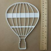 Hot Air Balloon Striped Shape Giant Biscuit Cookie Cutter Large Jumbo Stencil