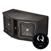 Kicker Q-class 41dl7122 12-inch Subwoofers In Ported Enclosure, 2-ohm