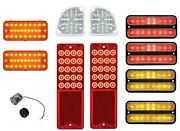 Complete Led Light Kit For 1967-1968 Chevy Truck W/ Tail Turn Reverse And Marker