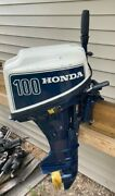 1980and039s Honda 10 Hp B100 Outboard Motor Complete 15 Short Shaft Runs Great