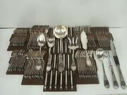 Mo Royal Cutlery Set Model Empire Of 117 Parts - Very Beautiful Condition