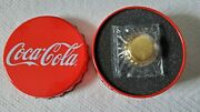 Coca Cola Fiji 12g Pure Gold Bottle Cap Coin Very Rare And Highly Collectible