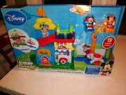Fisher Price Little People Magical Day At Disney Magic Kingdom Playset 2016 New