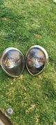 1936-1939 Ford Headlights Assembly Upgraded To Led - Original