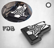 Fit H-d 2009-16 Trike Moving Star Contrast Cut Transmission Top Cover