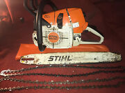 Stihl Professional Chainsaw Ms461 With 20 Bar And Chains