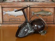 Very Rare Good Condition Item Pelican 50 Brown Fishing Reel Shipping From Japan