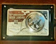 Most Famous Coin Bar Series - 2019 Usa 50th Anniversary Of The Moon Landing