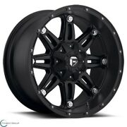Set Of 4 New Fuel Offroad Hostage D531 1piece 17x8.5 6x135 25 Wheel 17 Inch