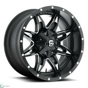 Set Of 4 New Fuel Offroad Lethal D567 1piece 20x10 5x139.7 -24 Wheel 20 Inch