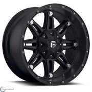 Set Of 4 New Fuel Offroad Hostage D531 1piece 17x8.5 6x135 14 Wheel 17 Inch