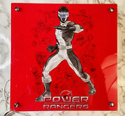 Mighty Morphin Power Rangers Red Square Light Lamp