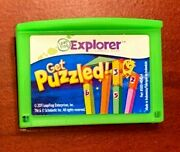 Leapfrog Leappad Explorer Learning Get Puzzled, Leap Pad 1 2 3 Gs Xdi Ultra