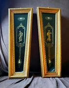 Andrew Kolb And Son Style Roman Greek Gold Gilted Framed Pair 2
