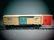 Scarce Original Lionel 6464-515 Mkt The Katy Box Car From Girlsand039 Set In Ob C-7.