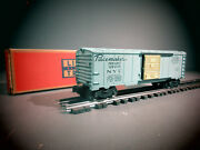 Scarce Original Lionel 6464-510 Pacemaker Box Car From Girlsand039 Set In Ob C-7.