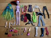 Monster High Doll Clothes Shoes Purses Accessories Doll Lot