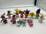 1984-1994 Vintage Mcdonalds Happy Meal Toys Cabbage Patch Kids Lot Of 12pc