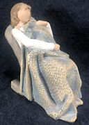 Willow Tree The Quilt Demdaco 5 Figurine Mother Child In Chair Blanket 2010