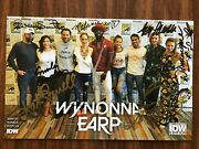 Wynonna Earp Idw / Cast 8 Signed Comic Convention Ed. / 1 / 2018 / Sdcc