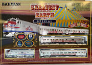 Bachmann Ho Scale Ringling Bros Greatest Show On Earth Circus Train Set