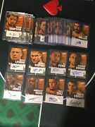 2010 Topps Ufc Round 4 Auto Lot 33 Total/ Inc. 15 Black Onyx 🔥📈must See