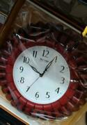 Wooden Clock Circle Shape Best Collectible Home Décor Gift For Christmas