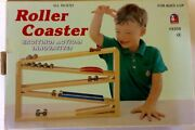 Physics Is Fun With This Wooden Educational Roller Coaster Car Race