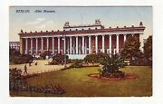 Ca1910 Berlin Altes Museum Ancient Art Archeology Antiques Germany