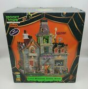 2010 Retired Rare Lemax Spooky Town Little Monsters' School House 05017