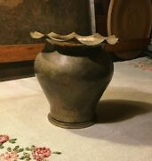 Early Dirk Van Erp Shell Casing Vase Arts Crafts Hand Hammered 1-89 Hotchkiss