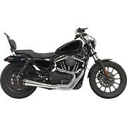 Bassani Chrome Road Rage Gen Ii 2-into-1 Exhaust System Harley Sportster 04-20