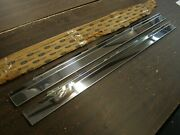Nos Ford 1965 - 1968 Mustang Accessory Stainless Sill Plates 1966 1967 Shelby