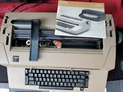 Ibm Selectric Iii Typewriter Owned By Ibm Executive Museum Quality Piece + Extra