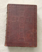 Illustrated Family Bible King James Version Leather Vintage 1930's