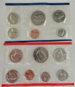 5 Sets - 1981 U.s. Uncirculated Mint Set, 13 Coins, Complete With Envelope