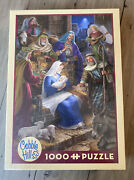 """Cobble Hill """"holy Night"""" 1000 Piece Jigsaw Puzzle Brand New Sealed"""