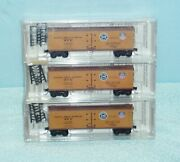 N Micro-trains 3pk 47062 Pacific Fruit Express Co/ U.p. And S.p. Unopened Sealed