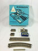 Marklin Misc Item Track Controller Untested And 7192 Box Only As-is Incomplete