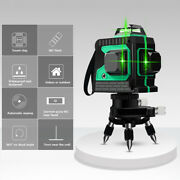 360° Rotary 3d Laser Level 12line Self Leveling Indoor Measure Tool Best