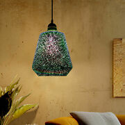 Modern Hanging 3d Colored Glass Ceiling Light Pendant Lamp Chandeliers E27 Usa