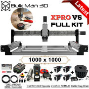 Xpro V5 Grbl Control 1000x1000mm Queenbee Pro Cnc Wood Router Machine Full Kit