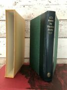 Poems By Thomas Hardy Folio Society 1/4 Leather 1979 1st Thus Illustrated N/fine
