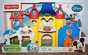 Fisher Price Little People Magic Kingdom Day At Disney Palace Castle Mickey Nip